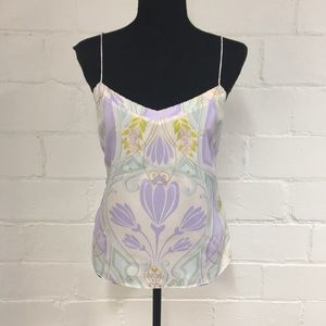 Ted Baker Cami in White/Pastel Floral